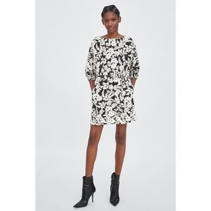 Zara full sleeve dress